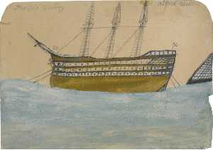 Alfred Wallis - il vecchio Victry , HMS -Victory-