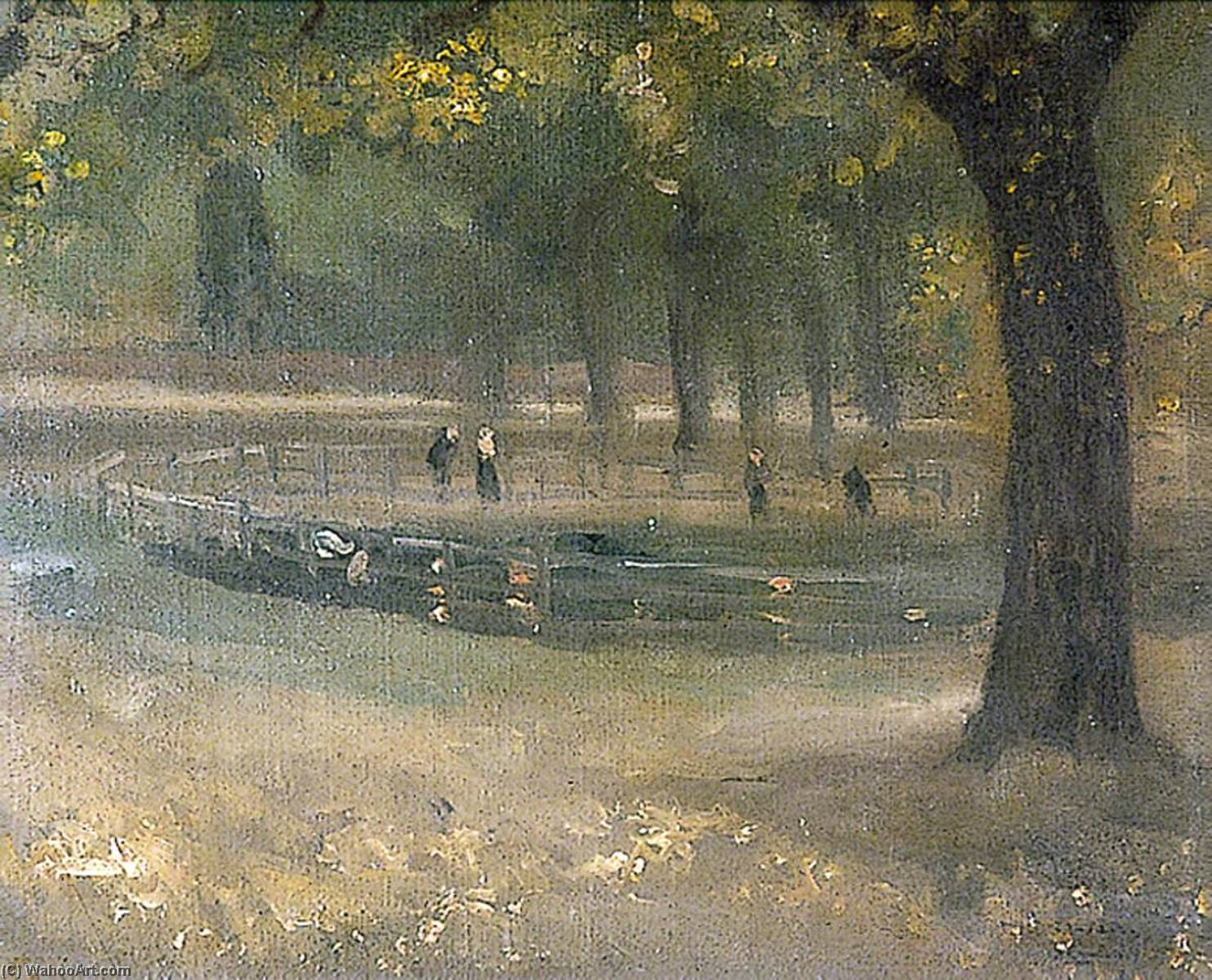 Parco come  Estate , 1925 di Théodore Casimir Roussel (1847-1926, France) | WahooArt.com