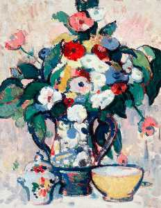 Anne Estelle Rice - il bouquet