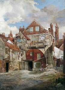 Walter Harvey Brook - il gatehouse , santa trinità Prioria , York