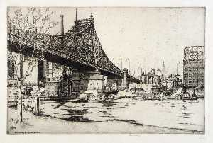 Ernest D Roth - Queensboro Ponte , Manhattan