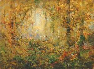 William Henry Holmes - autunno groviglio