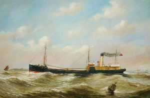 Ruben Chappell - SS 'Freighter' di newcastle