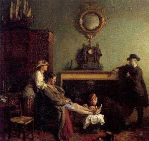 William Newenham Montague Orpen - Un semplice  Frattura