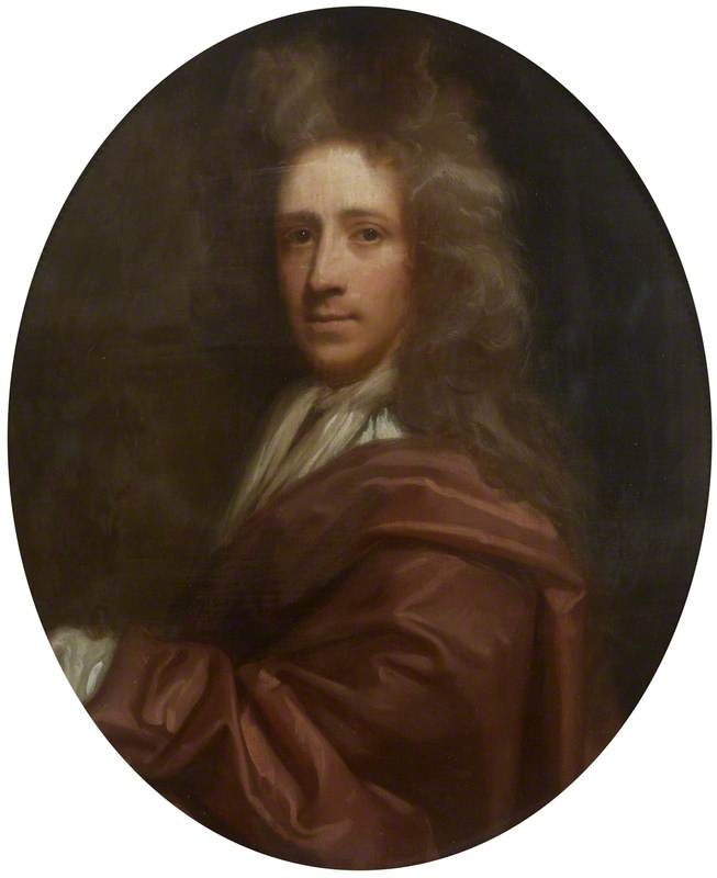 richard waller ( 1655–1715 ), olio su tela di Thomas Murray
