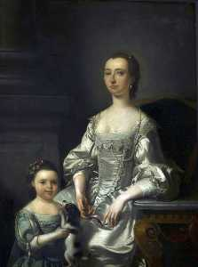 Henry Pickering - signora thomas Johnson e sua figlia