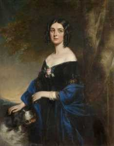 Richard Buckner - margaret laetitia , signora occidentale , nata Bushby ( 1798–1872 )