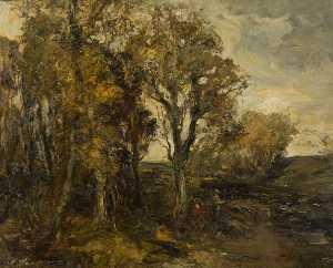 William Mouncey - autunno trees