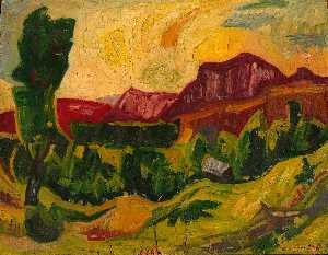 William Henry Johnson - montagne e campi
