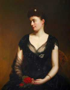 Sigismund Christian Hubert Goetze - julia stanton ( d . 1925 ) , Viscontessa Dillon di costello gallin