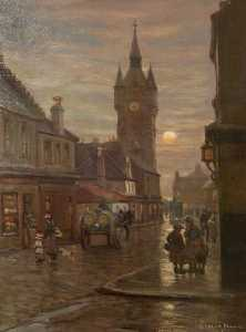 Patrick Downie - via principale Renfrew , 1888