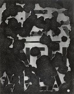 a New York 6  , stampa di Aaron Siskind (1903-1991, United States)