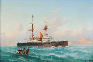 Luigi Galea - HMS 'Royal Sovereign' via Malta