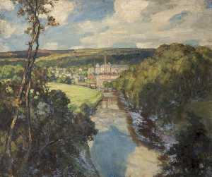Fred Stead - Fiume a bingley , Yorkshire