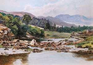 Frederick William Hayes - il glaslyn Fiume