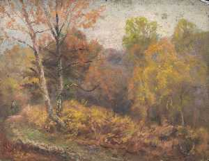 William Henry Hope - Paesaggio autunnale