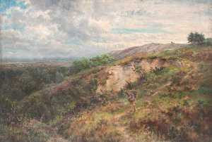 William Henry Hope - su addington Colline , Croydon , Surrey