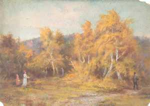 William Henry Hope - Autunno , croham hurst , Croydon , Surrey