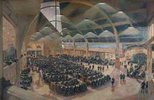 Charles Ernest Cundall - raf morse Scuola all'olympia , Blackpool