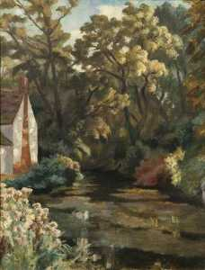 Roger Eliot Fry - Willy Lott's Casolare , Flatford