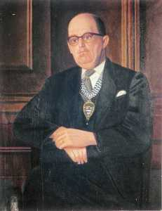 William Patrick Roberts - sidney james barton ( 1909–1986 ) , Presidente di londra Paese Consiglio ( 1959–1960 )