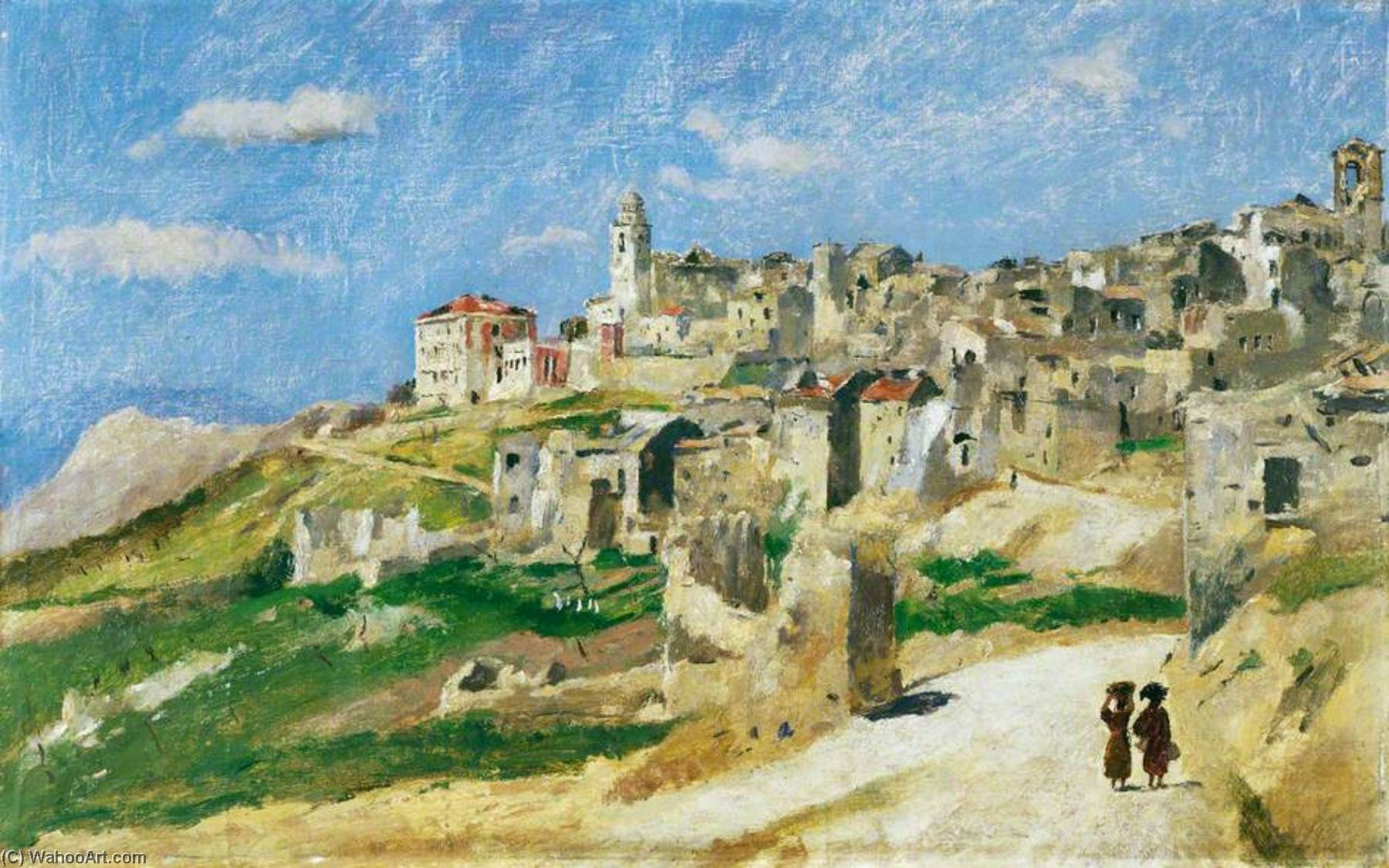 san vittore, 1944 di Henry Marvell Carr | Stampe D'arte Su Tela | WahooArt.com