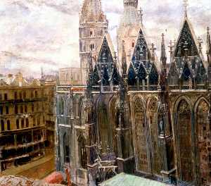 Carel Victor Morlais Weight - Cattedrale di st Stephen's , Vienna