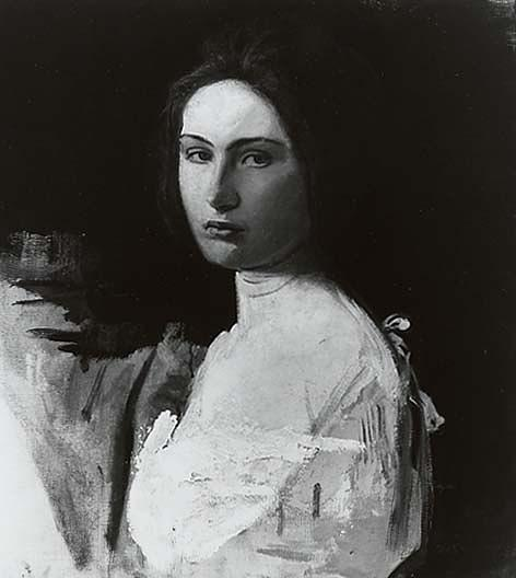 Ordinare Copia Pittura : Studio di alma wollerman , ( pittura ), 1908 di Abbott Handerson Thayer (1849-1921, United States) | WahooArt.com
