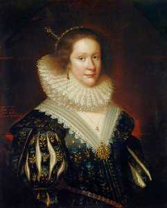 George Jamesone - lady mary erskine ( b . c . 1597 ) , Contessa Marischal