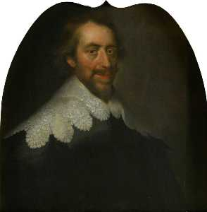 George Jamesone - william graham ( 1589–1661 ) , 7th Conte di Menteith e il 1st Conte di Airth , Presidente di il privy Consiglio
