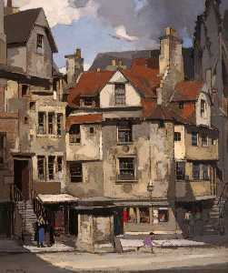 John Guthrie Spence Smith - Giovanni Knox's Casa , via principale , Edimburgo