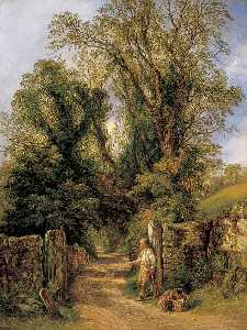 Frederick Henry Henshaw - Un Assaggio di Wharfdale , Yorkshire