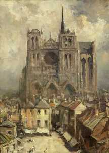 Francis Abel William Taylor Armstrong - Amiens Cattedrale