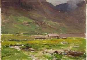 Francis Abel William Taylor Armstrong - Lago Ogwen