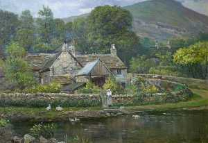 George Henry Wimpenny - Casolare nel derbyshire