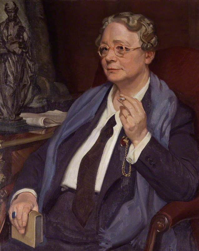 dorothy leigh sayers, 1950 di William Oliphant Hutchison | Riproduzioni Di Quadri Famosi | WahooArt.com
