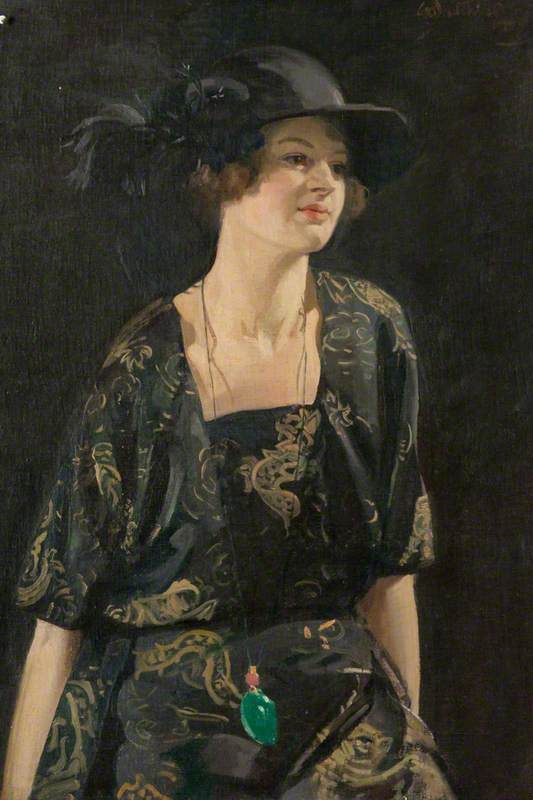 Katriona, olio su tela di William Oliphant Hutchison