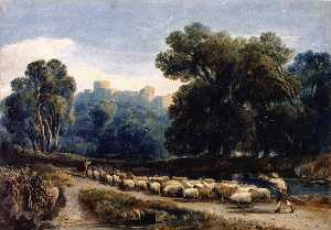 David Cox The Elder - a windsor parco