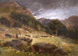 David Cox The Elder - Guida bestiame