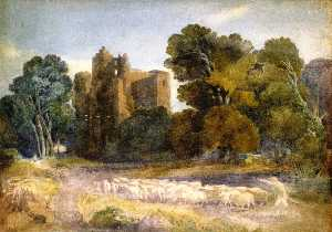 David Cox The Elder - Castello di Kenilworth
