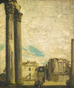 James Pryde - colonne in rovina