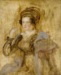 David Wilkie Wynfield - Maria , lady callcott