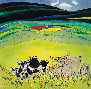 Li Fuyuan - AT CATTLE FOOTHILL