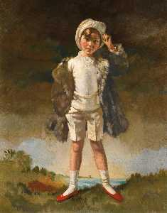 William Newenham Montague Orpen - Noll Figlio di Oliver Cattedrale di st . Giovanni Gogarty