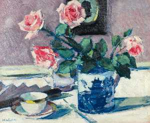 Francis Campbell Boileau Cadell - rosa rose
