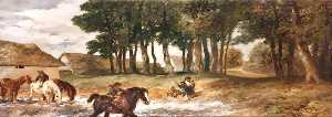John Gilbert - il cavallo Stagno a tarring , Sussex