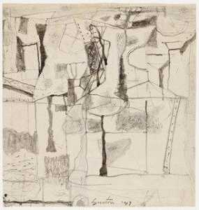 Philip Guston - Studio per Tormentors