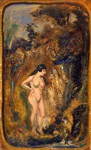 Louis Michel Eilshemius - nudo in Bosco