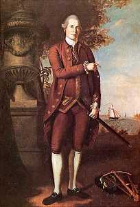 Charles Willson Peale - William Pietra ( 1739 1821 ) , ( pittura )