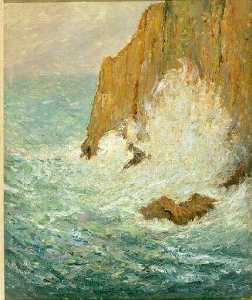 Maxime Emile Louis Maufra - Grosse mer